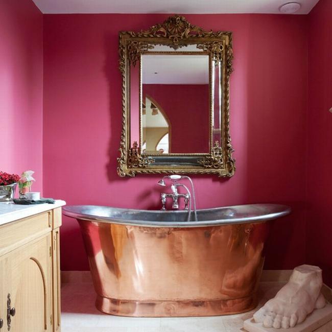 romantyczna łazienka w stylu francuskim łazienka glamour zdobiona łazienka delikatna łazienka bogata łazienka inspiracje 33