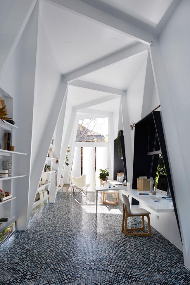 biuro domowe inspiracje jak urządzić małe biuro domowe australia projekt design biura aranżacje projektowanie wnętrz biurowych 11
