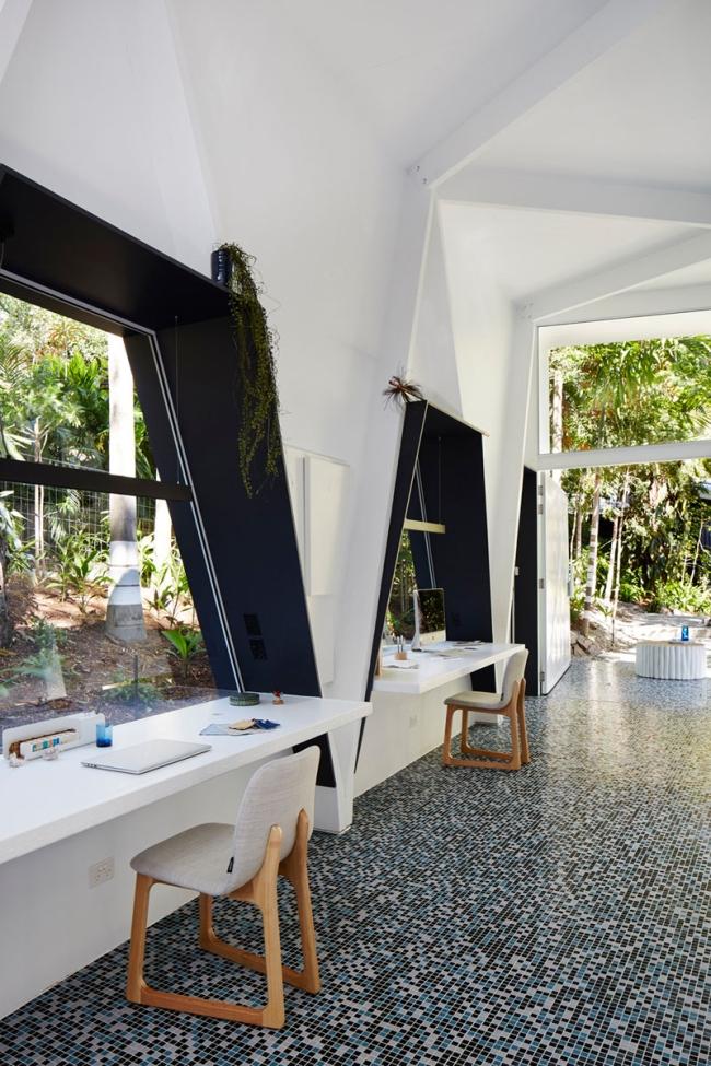 biuro domowe inspiracje jak urządzić małe biuro domowe australia projekt design biura aranżacje projektowanie wnętrz biurowych 12