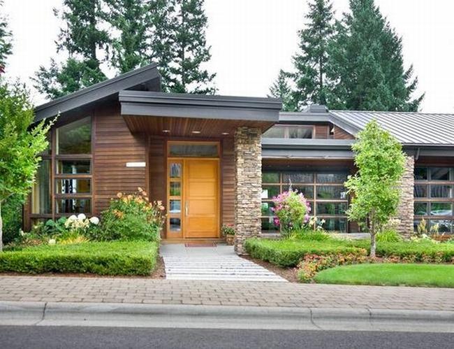 curb appeal design zewnętrza domu inspiracje pomysły rozwiązania wejście do domu amerykański dom i wnętrze seria american house project inspirations 214