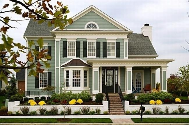 curb appeal design zewnętrza domu inspiracje pomysły rozwiązania wejście do domu amerykański dom i wnętrze seria american house project inspirations 225