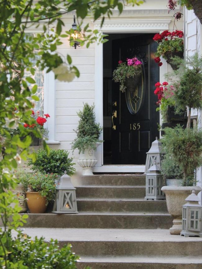 curb appeal design zewnętrza domu inspiracje pomysły rozwiązania wejście do domu amerykański dom i wnętrze seria american house project inspirations 31