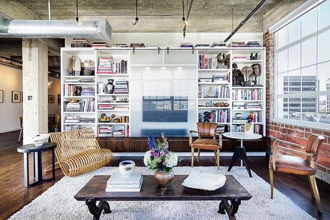 jak ukryć telewizor w salonie ukryty telewizor we wnętrzu w domu inspiracje design pomysły rozwiązania 49
