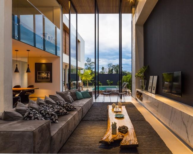luksusowa nowoczesna rezydencja nowoczesny projekt nowoczesny dom wille marzeń realizacje inspiracje design 03