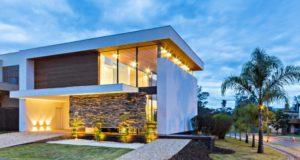 luksusowa nowoczesna rezydencja nowoczesny projekt nowoczesny dom wille marzeń realizacje inspiracje design 06