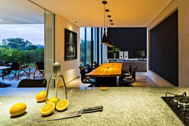 luksusowa nowoczesna rezydencja nowoczesny projekt nowoczesny dom wille marzeń realizacje inspiracje design 27