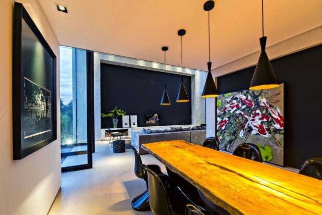 luksusowa nowoczesna rezydencja nowoczesny projekt nowoczesny dom wille marzeń realizacje inspiracje design 28