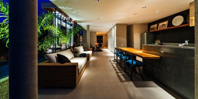 luksusowa nowoczesna rezydencja nowoczesny projekt nowoczesny dom wille marzeń realizacje inspiracje design 35