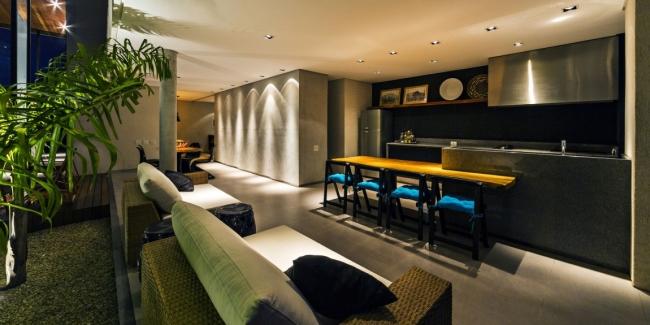 luksusowa nowoczesna rezydencja nowoczesny projekt nowoczesny dom wille marzeń realizacje inspiracje design 37