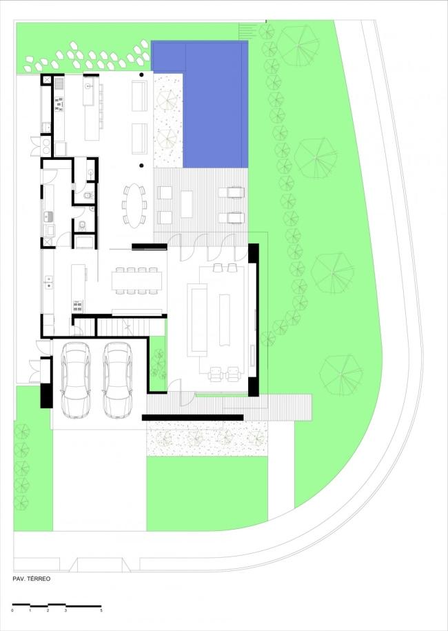 luksusowa nowoczesna rezydencja nowoczesny projekt nowoczesny dom wille marzeń realizacje inspiracje design 45