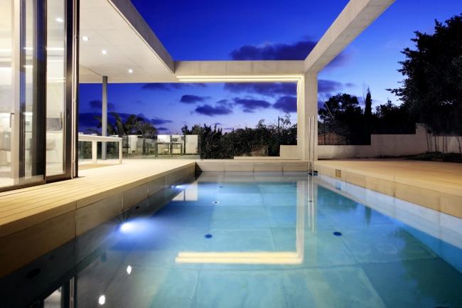 luksusowy dom marzeń nowoczesny dom hiszpania projekt design inspiracje realizacje modern house project inspiration 13