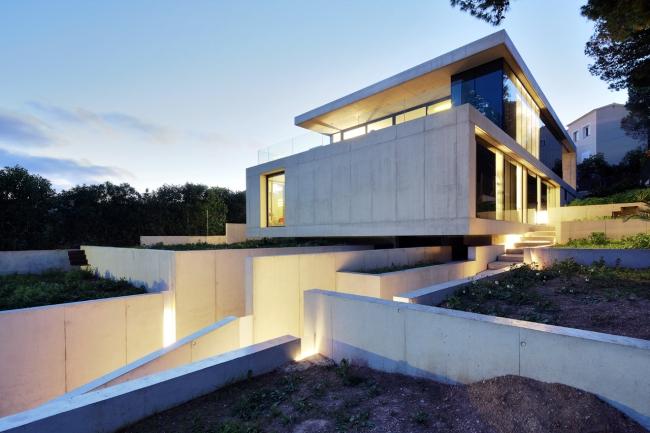 luksusowy dom marzeń nowoczesny dom hiszpania projekt design inspiracje realizacje modern house project inspiration 15