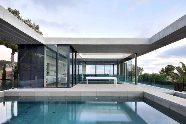 luksusowy dom marzeń nowoczesny dom hiszpania projekt design inspiracje realizacje modern house project inspiration 19
