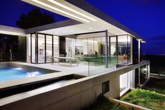 luksusowy dom marzeń nowoczesny dom hiszpania projekt design inspiracje realizacje modern house project inspiration 20