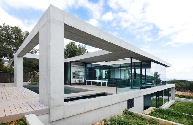 luksusowy dom marzeń nowoczesny dom hiszpania projekt design inspiracje realizacje modern house project inspiration 21