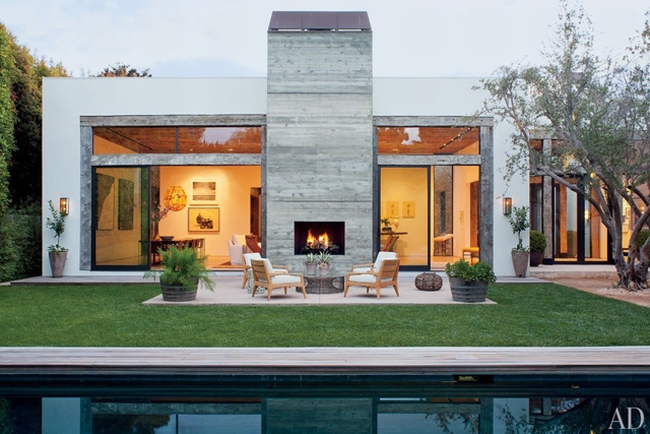 mały nowoczesny dom los angeles design inspiracje projekt small modern house design inspirations wille marzeń 35