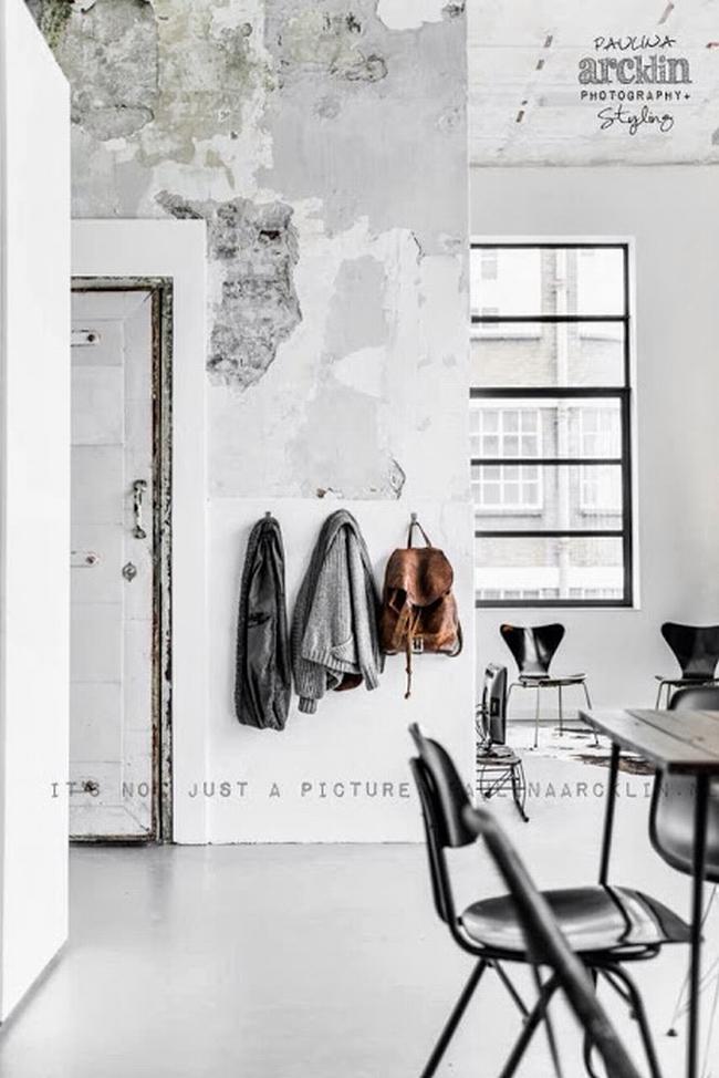 mieszkanie w kamienicy industrialne wnętrze loft wnętrze loftu inspiracje projekt realizacja design 04