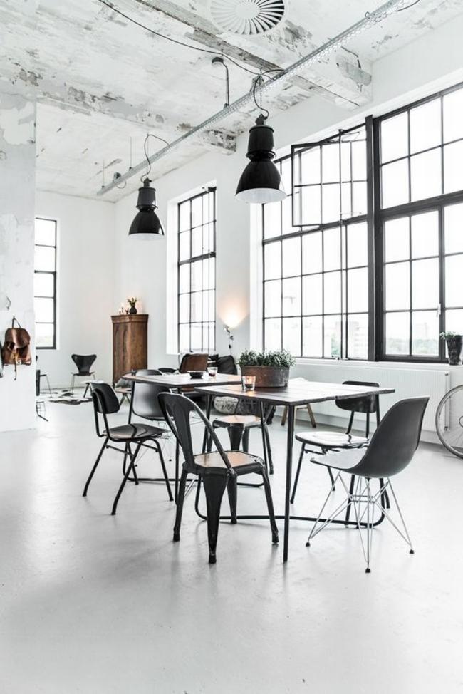 mieszkanie w kamienicy industrialne wnętrze loft wnętrze loftu inspiracje projekt realizacja design 101