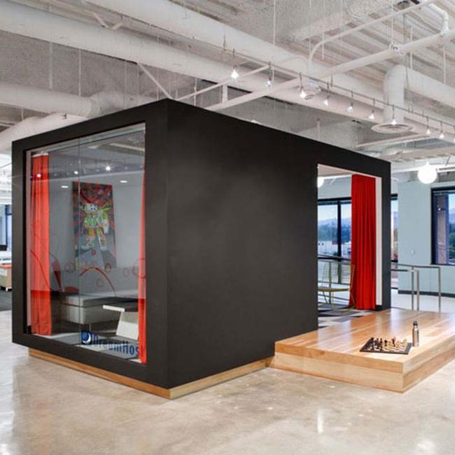 nowoczesna przestrzeń biurowa biura wielkich korporacji nowoczesne biuro inspiracje design nowoczesnego biura 01