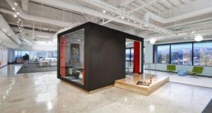 nowoczesna przestrzeń biurowa biura wielkich korporacji nowoczesne biuro inspiracje design nowoczesnego biura 08