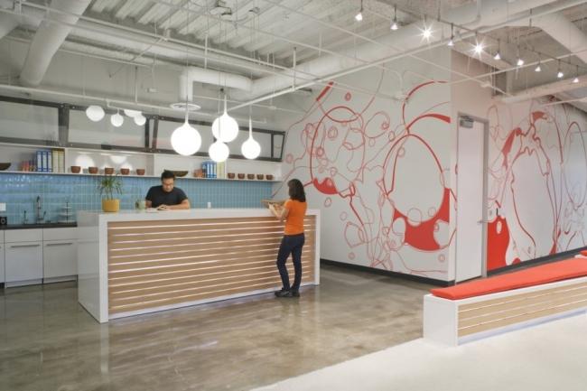 nowoczesna przestrzeń biurowa biura wielkich korporacji nowoczesne biuro inspiracje design nowoczesnego biura 10