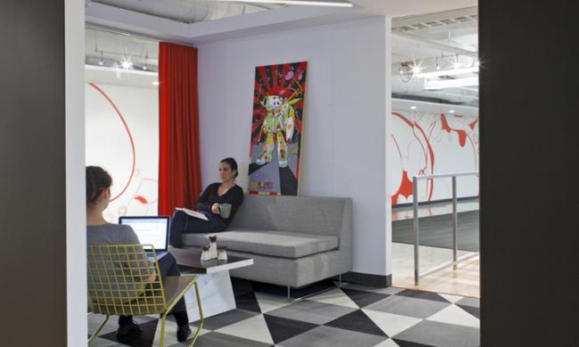 nowoczesna przestrzeń biurowa biura wielkich korporacji nowoczesne biuro inspiracje design nowoczesnego biura 17