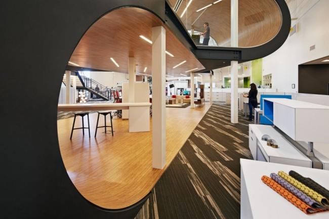 nowoczesne biuro kreatywna przestrzeń biurowa inspiracje pomysły realizacja kreatywne biuro nowoczesne 34