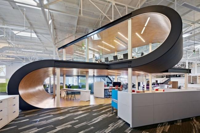 nowoczesne biuro kreatywna przestrzeń biurowa inspiracje pomysły realizacja kreatywne biuro nowoczesne 35