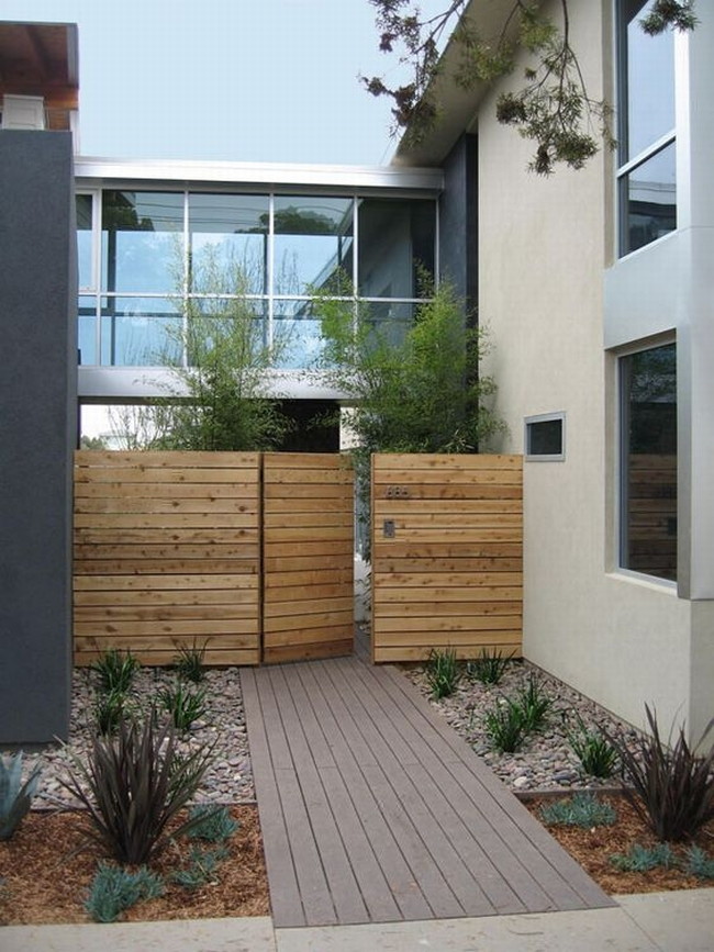 nowoczesne ogrodzenie domu inspiracje realizacje design nowoczesnego ogrodzenia modern fence inspirations 06
