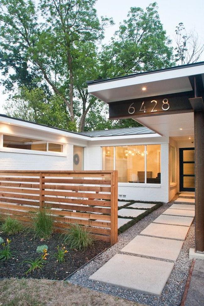 nowoczesne ogrodzenie domu inspiracje realizacje design nowoczesnego ogrodzenia modern fence inspirations 09