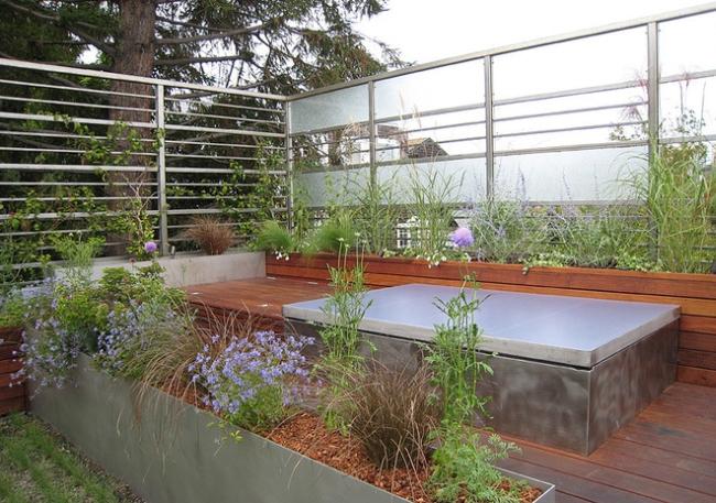 nowoczesne ogrodzenie domu inspiracje realizacje design nowoczesnego ogrodzenia modern fence inspirations 10