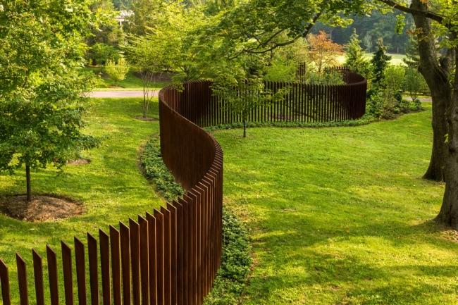 nowoczesne ogrodzenie domu inspiracje realizacje design nowoczesnego ogrodzenia modern fence inspirations 103