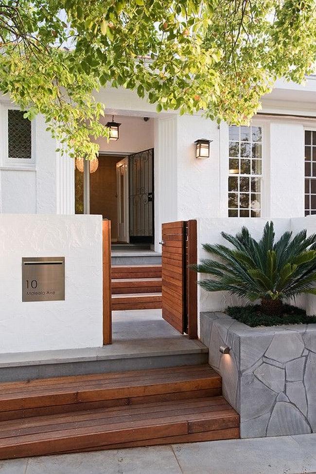 nowoczesne ogrodzenie domu inspiracje realizacje design nowoczesnego ogrodzenia modern fence inspirations 17