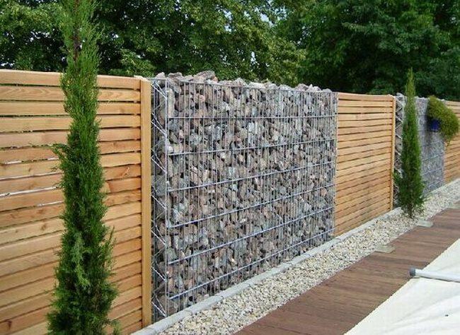 nowoczesne ogrodzenie domu inspiracje realizacje design nowoczesnego ogrodzenia modern fence inspirations 27