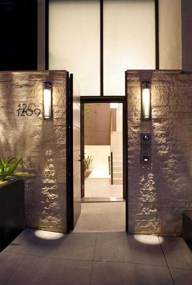 nowoczesne ogrodzenie domu inspiracje realizacje design nowoczesnego ogrodzenia modern fence inspirations 46