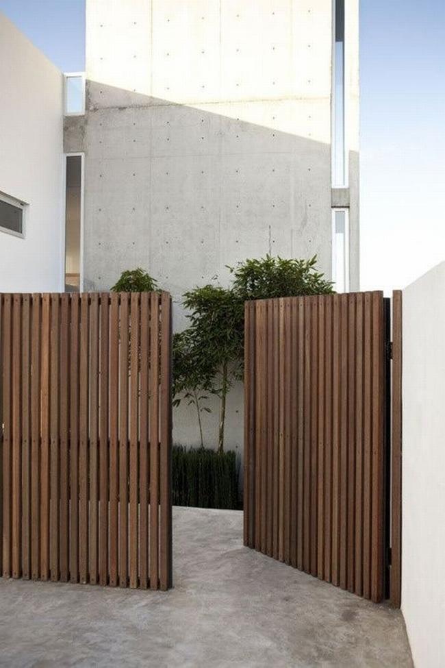 nowoczesne ogrodzenie domu inspiracje realizacje design nowoczesnego ogrodzenia modern fence inspirations 49