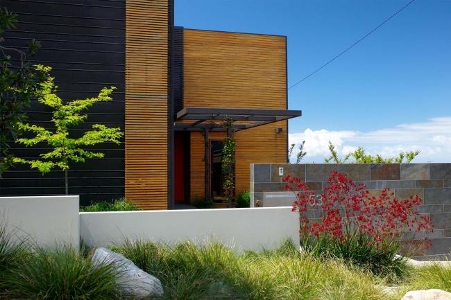 nowoczesne ogrodzenie domu inspiracje realizacje design nowoczesnego ogrodzenia modern fence inspirations 52