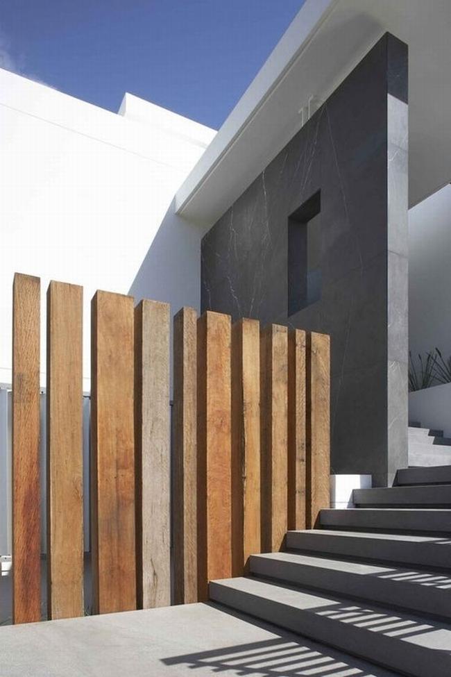 nowoczesne ogrodzenie domu inspiracje realizacje design nowoczesnego ogrodzenia modern fence inspirations 53