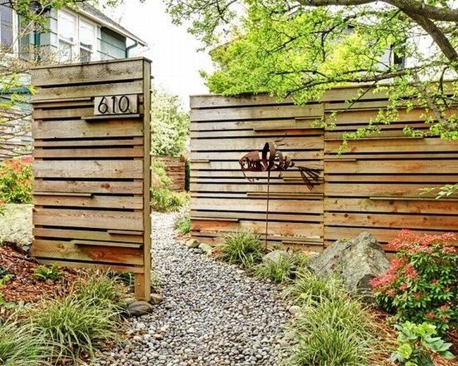 nowoczesne ogrodzenie domu inspiracje realizacje design nowoczesnego ogrodzenia modern fence inspirations 56