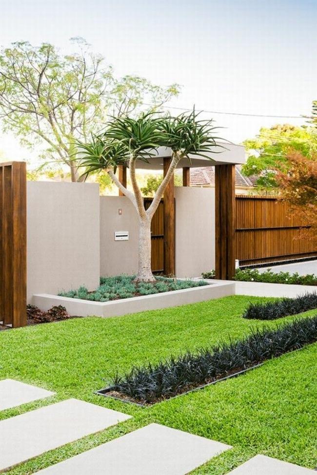 nowoczesne ogrodzenie domu inspiracje realizacje design nowoczesnego ogrodzenia modern fence inspirations 57