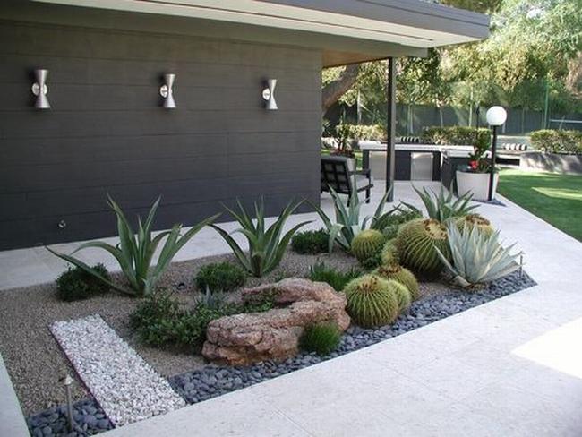 piękny ogródek zieleń przed wejściem do domu inspiracje pomysły