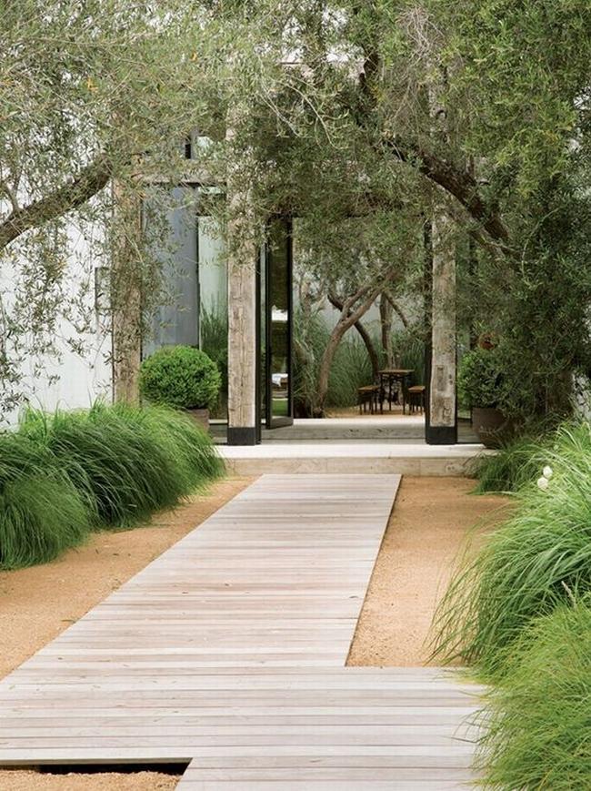 piękny ogródek zieleń przed wejściem do domu inspiracje pomysły na piękny ogródek zieleń 102