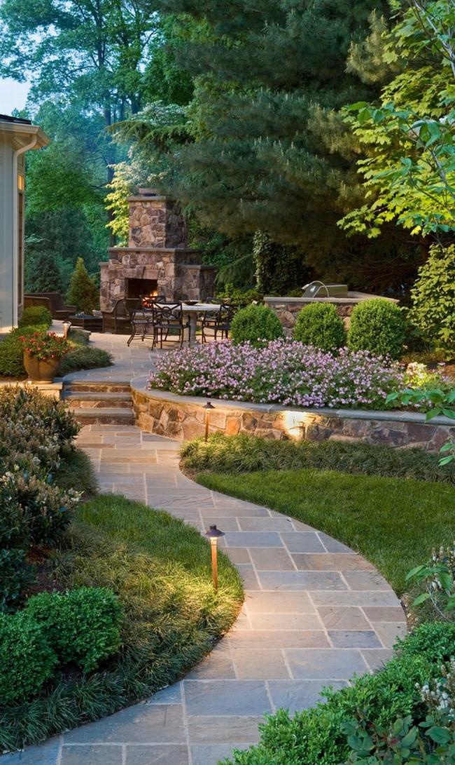 piękny ogródek zieleń przed wejściem do domu inspiracje pomysły na piękny ogródek zieleń 115