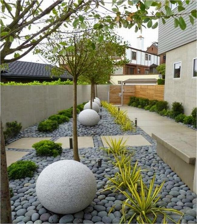 piękny ogródek zieleń przed wejściem do domu inspiracje pomysły na piękny ogródek zieleń 24