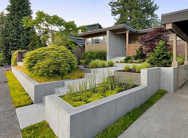 piękny ogródek zieleń przed wejściem do domu inspiracje pomysły na piękny ogródek zieleń 84