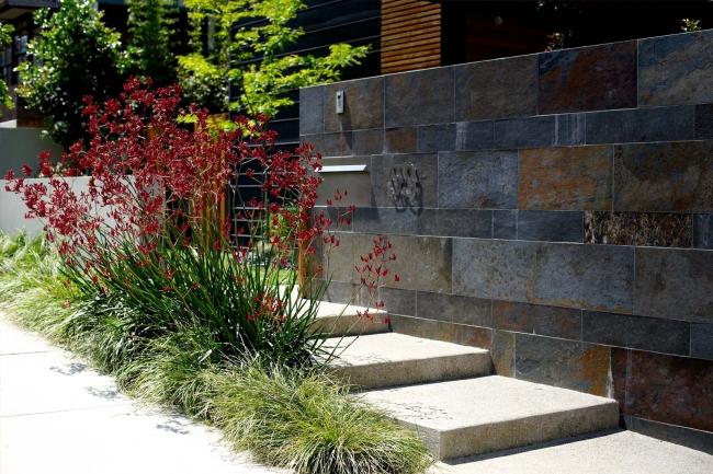 zieleń przed domem piękny ogródek zieleń przed wejściem do domu inspiracje pomysły na piękny ogródek zieleń 44