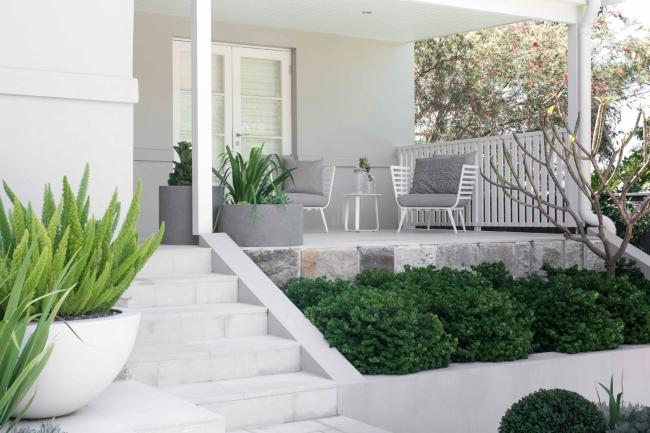 zieleń przed domem piękny ogródek zieleń przed wejściem do domu inspiracje pomysły na piękny ogródek zieleń 63