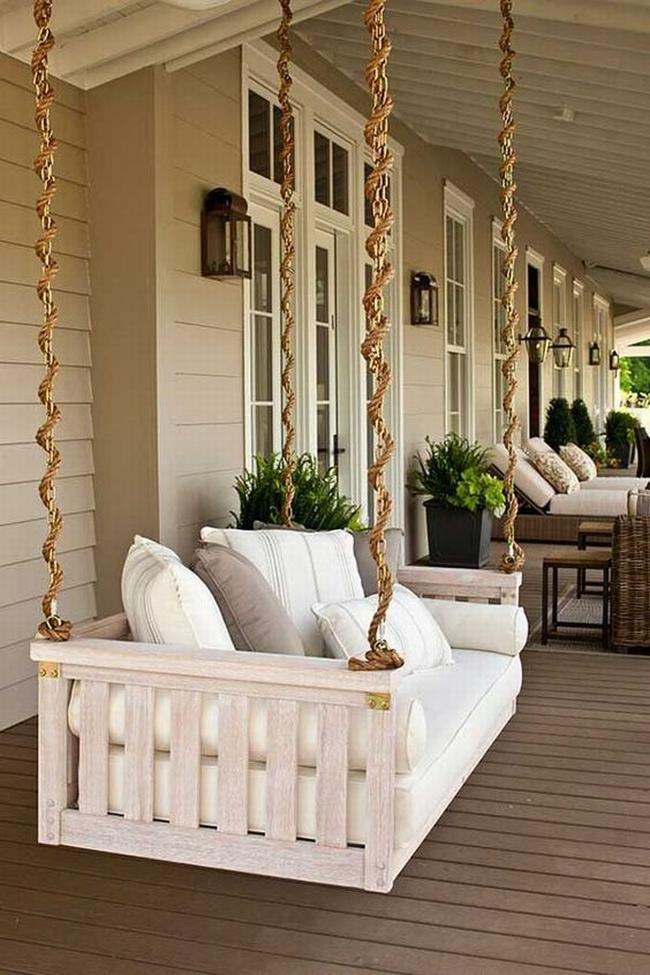huśtawka na taras werandę inspiracje realizacje pomysły jak zrobić huśtawkę na tarasie design porch swings inspirations 02