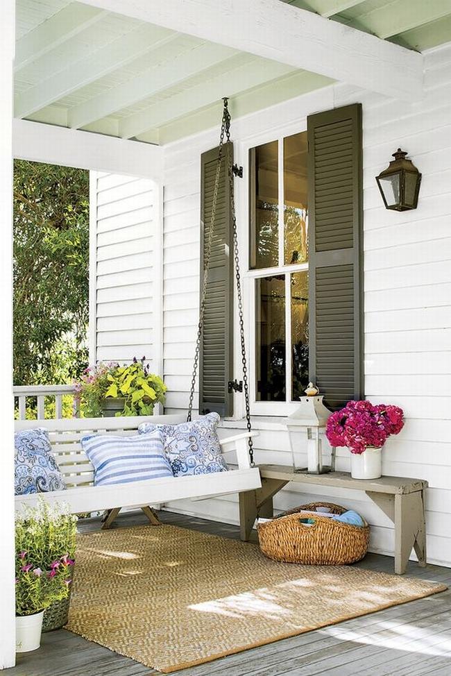 huśtawka na taras werandę inspiracje realizacje pomysły jak zrobić huśtawkę na tarasie design porch swings inspirations 07