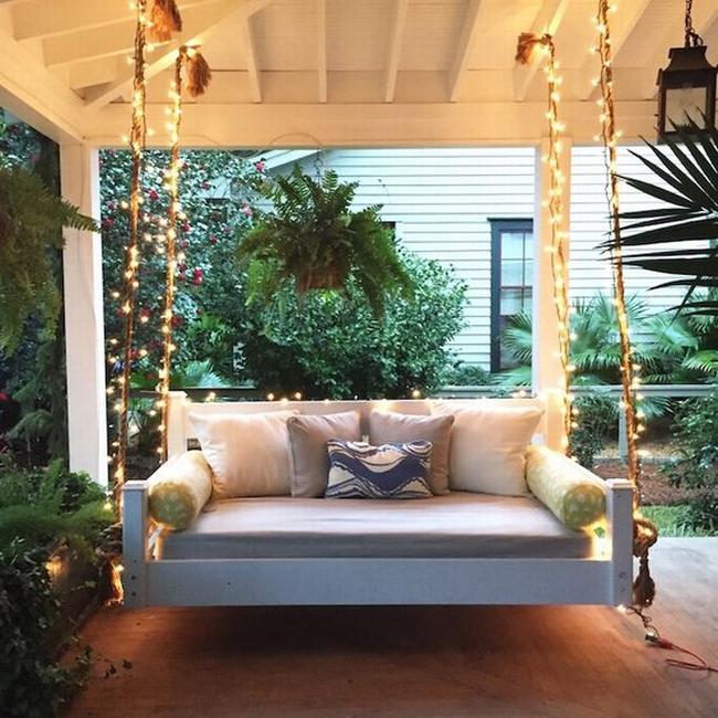 huśtawka na taras werandę inspiracje realizacje pomysły jak zrobić huśtawkę na tarasie design porch swings inspirations 09